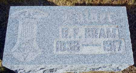 BRAM, GOTTLIEB FREDRICK - Worth County, Missouri | GOTTLIEB FREDRICK BRAM - Missouri Gravestone Photos
