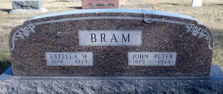 BRAM, JOHN PETER - Worth County, Missouri   JOHN PETER BRAM - Missouri Gravestone Photos