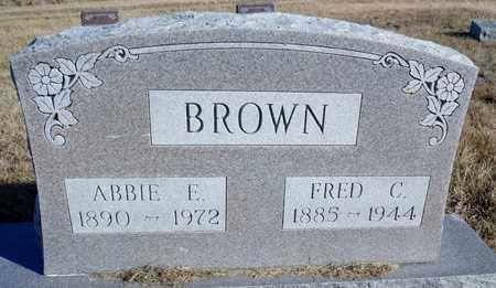 BROWN, ABBIE ELIZABETH - Worth County, Missouri | ABBIE ELIZABETH BROWN - Missouri Gravestone Photos
