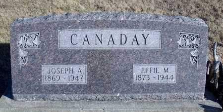 CANADAY, JOSEPH A. - Worth County, Missouri   JOSEPH A. CANADAY - Missouri Gravestone Photos