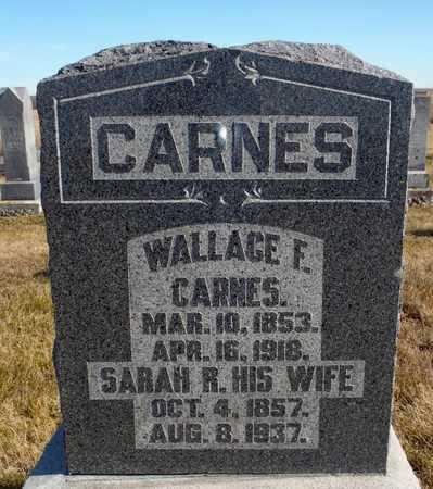 CARNES, SARAH RACHAEL - Worth County, Missouri   SARAH RACHAEL CARNES - Missouri Gravestone Photos