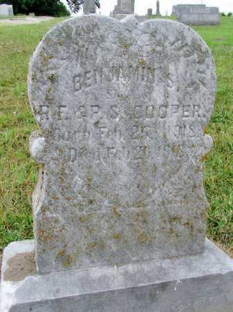 COOPER, BENJAMIN S. - Worth County, Missouri | BENJAMIN S. COOPER - Missouri Gravestone Photos