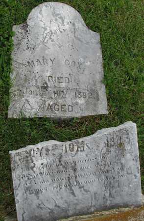 COX, MARY - Worth County, Missouri | MARY COX - Missouri Gravestone Photos