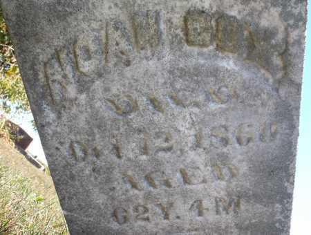COX, NOAH - Worth County, Missouri | NOAH COX - Missouri Gravestone Photos