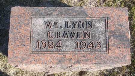 "CRAVEN, WILLIAM LYON ""BILLY"" - Worth County, Missouri | WILLIAM LYON ""BILLY"" CRAVEN - Missouri Gravestone Photos"