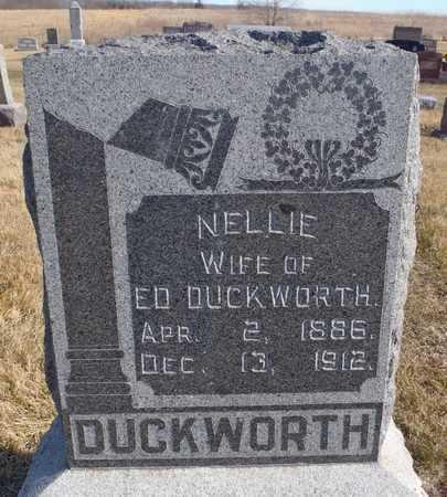 GLICK DUCKWORTH, NELLIE - Worth County, Missouri | NELLIE GLICK DUCKWORTH - Missouri Gravestone Photos