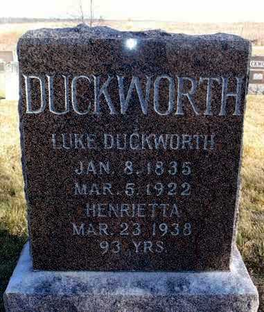 DUCKWORTH, HENRIETTA ARMETTA - Worth County, Missouri | HENRIETTA ARMETTA DUCKWORTH - Missouri Gravestone Photos