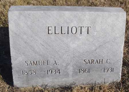 ELLIOTT, SARAH CATHERINE - Worth County, Missouri | SARAH CATHERINE ELLIOTT - Missouri Gravestone Photos