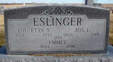 ESLINGER, EMMETT - Worth County, Missouri | EMMETT ESLINGER - Missouri Gravestone Photos
