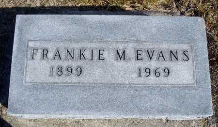 FARRIS EVANS, FRANCIS M. - Worth County, Missouri | FRANCIS M. FARRIS EVANS - Missouri Gravestone Photos