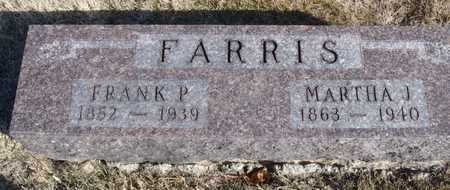 MCNEESE FARRIS, MARTHA JANE - Worth County, Missouri | MARTHA JANE MCNEESE FARRIS - Missouri Gravestone Photos