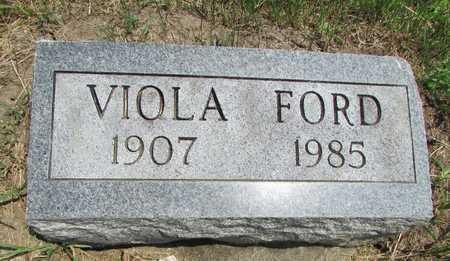 FORD, VIOLA - Worth County, Missouri   VIOLA FORD - Missouri Gravestone Photos