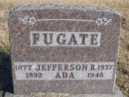 FUGATE, JEFFERSON B. - Worth County, Missouri   JEFFERSON B. FUGATE - Missouri Gravestone Photos