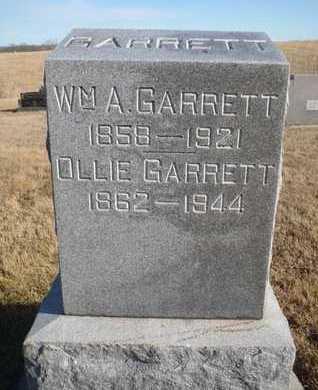 GARRETT, WILLIAM A. - Worth County, Missouri | WILLIAM A. GARRETT - Missouri Gravestone Photos