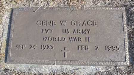 GRACE, GENE WARD  WWII VETERAN - Worth County, Missouri | GENE WARD  WWII VETERAN GRACE - Missouri Gravestone Photos