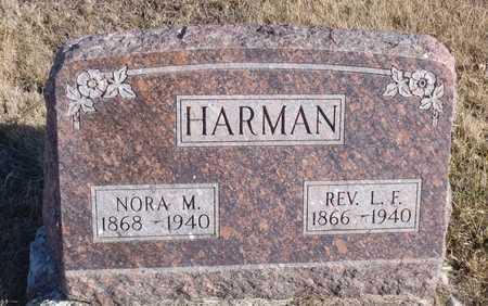 HARMAN, LEWIS FRANKLIN - Worth County, Missouri   LEWIS FRANKLIN HARMAN - Missouri Gravestone Photos