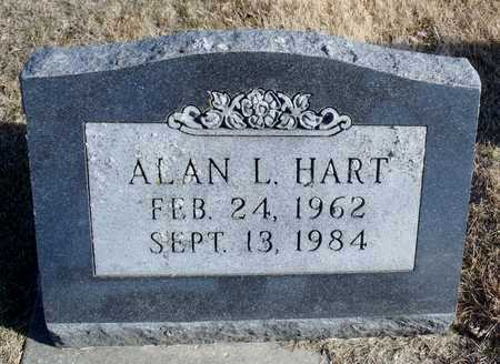 HART, ALAN L. - Worth County, Missouri | ALAN L. HART - Missouri Gravestone Photos
