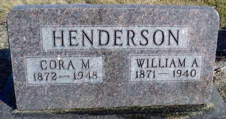 HENDERSON, WILLIAM A. - Worth County, Missouri | WILLIAM A. HENDERSON - Missouri Gravestone Photos