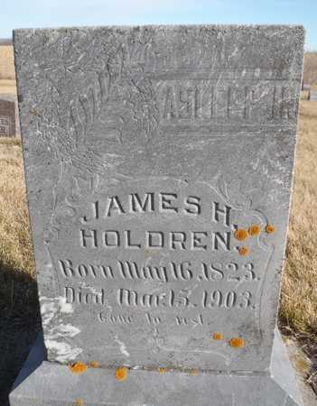 HOLDREN, JAMES HENRY - Worth County, Missouri | JAMES HENRY HOLDREN - Missouri Gravestone Photos