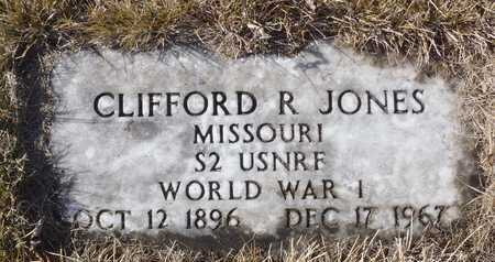 JONES, CLIFFORD R. WW I VETERAN - Worth County, Missouri | CLIFFORD R. WW I VETERAN JONES - Missouri Gravestone Photos
