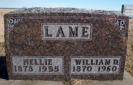LAME, NELLIE ELIZABETH - Worth County, Missouri   NELLIE ELIZABETH LAME - Missouri Gravestone Photos