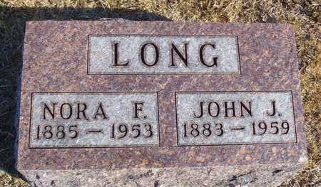 LONG, NORA FRANCIS - Worth County, Missouri | NORA FRANCIS LONG - Missouri Gravestone Photos