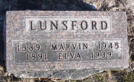 LUNSFORD, ELVA - Worth County, Missouri | ELVA LUNSFORD - Missouri Gravestone Photos