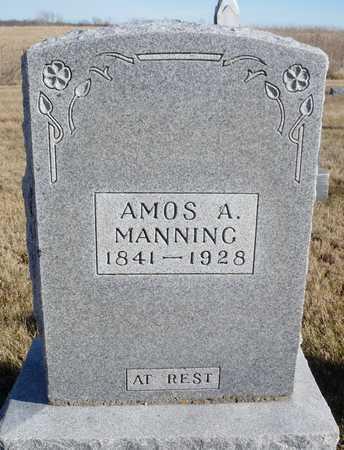 MANNING, AMOS A. CIVIL WAR VETERAN - Worth County, Missouri   AMOS A. CIVIL WAR VETERAN MANNING - Missouri Gravestone Photos