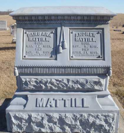 MATTILL, BARBARA - Worth County, Missouri   BARBARA MATTILL - Missouri Gravestone Photos