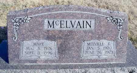 MCELVAIN, MELVILLE ELDON - Worth County, Missouri | MELVILLE ELDON MCELVAIN - Missouri Gravestone Photos