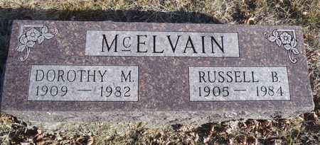 MCELVAIN, RUSSELL B. - Worth County, Missouri | RUSSELL B. MCELVAIN - Missouri Gravestone Photos