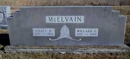 MCELVAIN, WILLARD E. - Worth County, Missouri | WILLARD E. MCELVAIN - Missouri Gravestone Photos