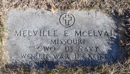 MCELVAIN, MELVILLE ELDON WW II, KOREA VETERAN - Worth County, Missouri | MELVILLE ELDON WW II, KOREA VETERAN MCELVAIN - Missouri Gravestone Photos