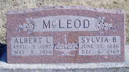 MCLEOD, ALBERT L. - Worth County, Missouri | ALBERT L. MCLEOD - Missouri Gravestone Photos