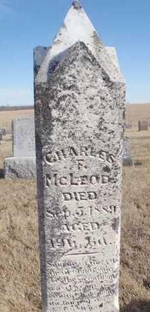 MCLEOD, CHARLES - Worth County, Missouri | CHARLES MCLEOD - Missouri Gravestone Photos