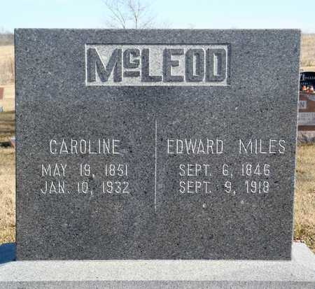 GREEN MCLEOD, CAROLINE - Worth County, Missouri   CAROLINE GREEN MCLEOD - Missouri Gravestone Photos