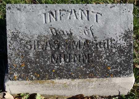 MUNN, INFANT DAUGHTER - Worth County, Missouri | INFANT DAUGHTER MUNN - Missouri Gravestone Photos