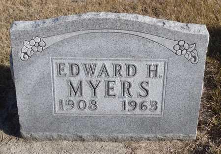 MYERS, EDWARD H. - Worth County, Missouri | EDWARD H. MYERS - Missouri Gravestone Photos