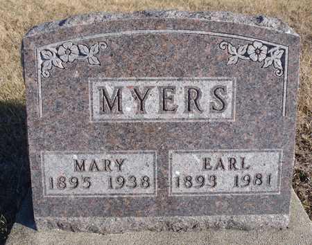 MYERS, MARY ANN - Worth County, Missouri | MARY ANN MYERS - Missouri Gravestone Photos