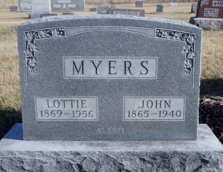 MYERS, JOHN - Worth County, Missouri   JOHN MYERS - Missouri Gravestone Photos