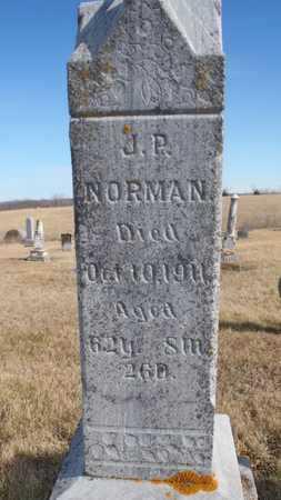 NORMAN, JUSTICE P. - Worth County, Missouri | JUSTICE P. NORMAN - Missouri Gravestone Photos