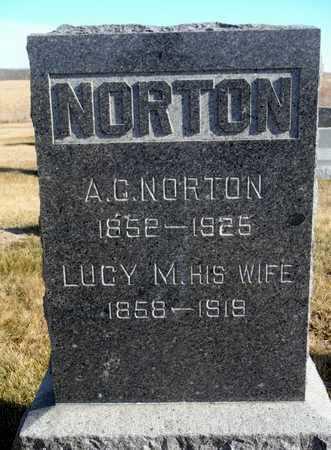 NORTON, LUCY M. - Worth County, Missouri | LUCY M. NORTON - Missouri Gravestone Photos