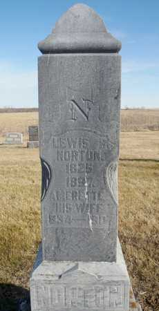 NORTON, AMERETTE - Worth County, Missouri | AMERETTE NORTON - Missouri Gravestone Photos