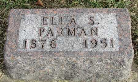 PARMAN, ELLA S. - Worth County, Missouri | ELLA S. PARMAN - Missouri Gravestone Photos