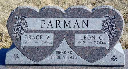 PARMAN, GRACE WARENE - Worth County, Missouri | GRACE WARENE PARMAN - Missouri Gravestone Photos
