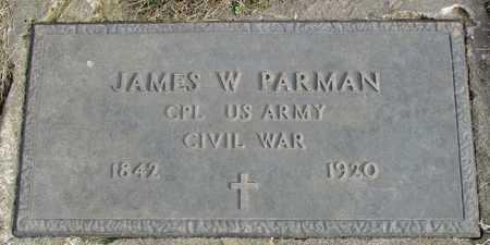 PARMAN, JAMES WESLEY VETERAN CW - Worth County, Missouri | JAMES WESLEY VETERAN CW PARMAN - Missouri Gravestone Photos