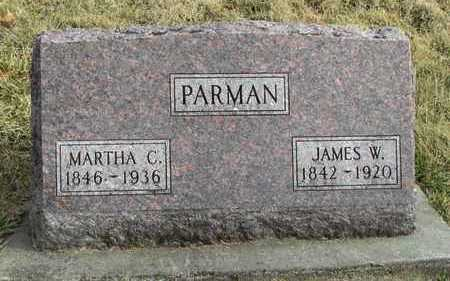 PARMAN, MARTHA CATHERINE - Worth County, Missouri | MARTHA CATHERINE PARMAN - Missouri Gravestone Photos