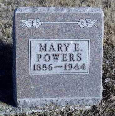 POWERS, MARY E. - Worth County, Missouri | MARY E. POWERS - Missouri Gravestone Photos