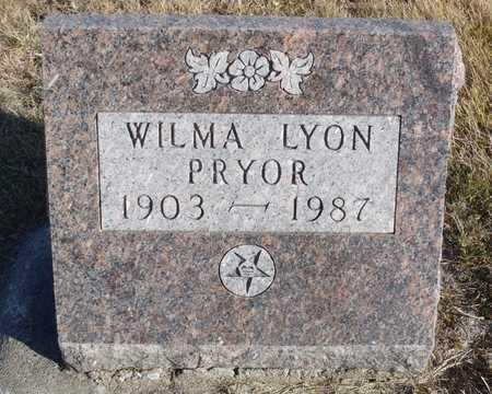 PRYOR, WILMA - Worth County, Missouri | WILMA PRYOR - Missouri Gravestone Photos