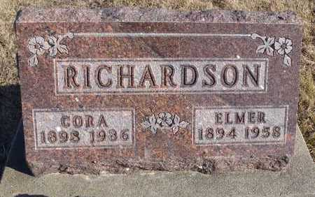RICHARDSON, JOHN ELMER - Worth County, Missouri | JOHN ELMER RICHARDSON - Missouri Gravestone Photos